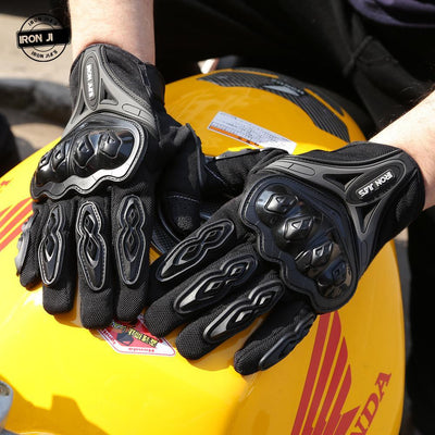 Iron™ Touch Screen Gloves - Motorcycle Lab