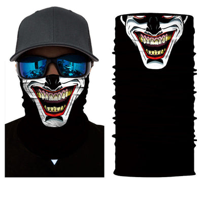 Cool Motorcycle Jester Face Mask - Motorcycle Lab