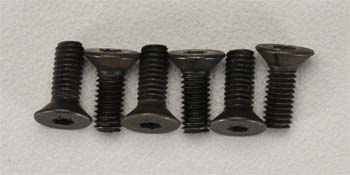 Countersunk Hex Screw 3x8mm (6)  (Part # TRA2550)