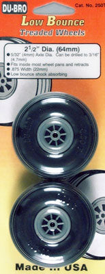 TREADED WHEELS_2-1/2 (Part # DUB250T)