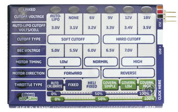 CASTLE TUNING CARD (Part # CSE010006301)
