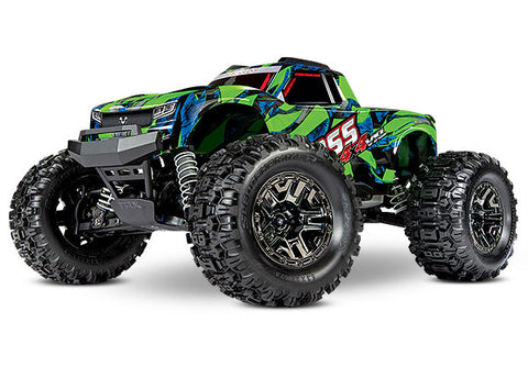 TRA90076-4 Traxxas Hoss 4x4 VXL (available in Green or Orange)