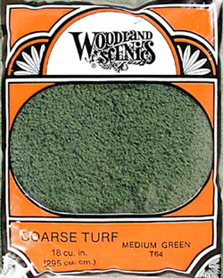 COARSE TURF - MED GREEN (Part # T64)