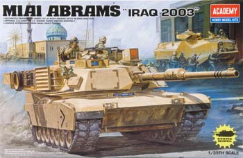 13202 1/35 M1A1 Abrams Iraq 2003 (Part # ACYS1204)