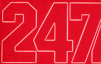 NUMBERS RED 2 (Part # COVQ3220)