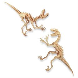 3D PUZZLE DEINONYCHUS (Part # WSK1235)