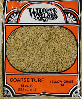 COARSE TURF - YELLOW GRASS (Part # T61)