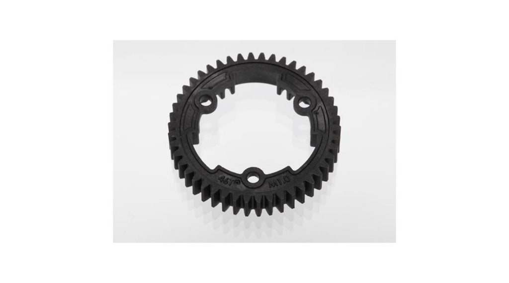 SPUR GEAR, 46-TOOTH (1.0 METRIC PITCH) (PART# TRA6447)