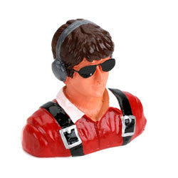 1/7Pilot-Civilian,Young with Headphones & Sunglasses (Part # HAN9113)