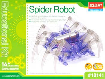 Spider Robot Educational Kit (PART# ACYX8141)