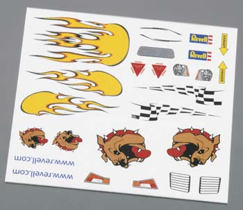 PEEL & STICK DECALS B (Part # RMXY9628)