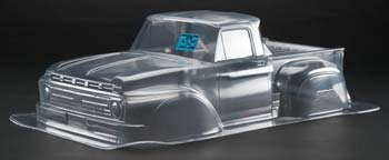 PRO340800 '66 Ford F-100 Clear Body Slash/Slash 4x4/SC10