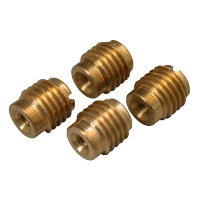 BRASS THREADED INSERT 10-32(4) (Part # GPMQ3366)