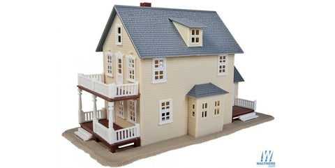 "Two-Story House -- Kit - 3 x 7""  7.7 x 17.7cm"