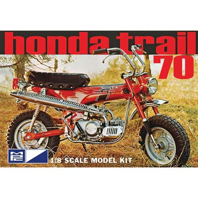 1/8 Honda Trail 70 Minibike (PART# MPC833)
