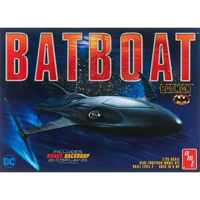 AMT 1/25 Batman Batboat  (PART# AMTS1025)