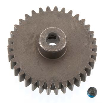 34-T PINION (1.0 METRIC PITCH), FITS 5MM SHAFT (PART# TRA6493)