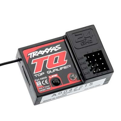 Receiver, Micro,TQ 2.4GHZ,3 Channel (PART# TRA6519)
