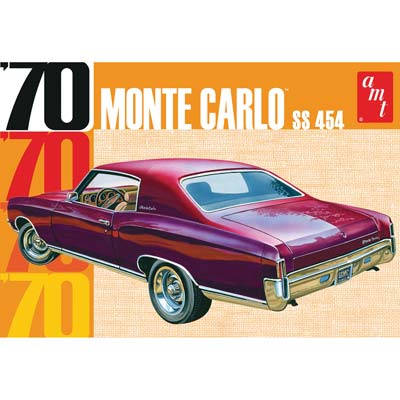 1/25, 1970 Chevy Monte Carlo (Part # AMT928)