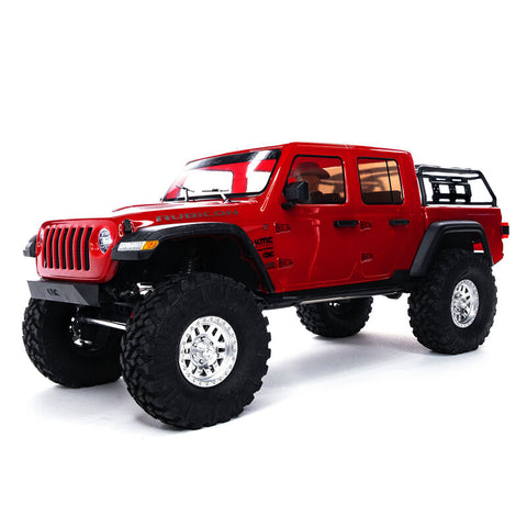 AXI03006 SCX10III Jeep Gladiator JT RTR (available in Red or Black)