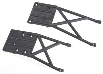 SKIDPLATES  FRONT & REAR (Part # TRA5837)