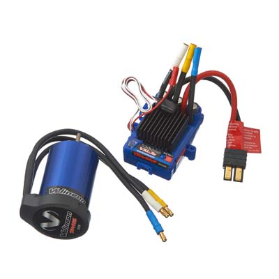 TRAXXAS BRUSHLESS VXL-3S SYSTEM (Part # TRA3350R)