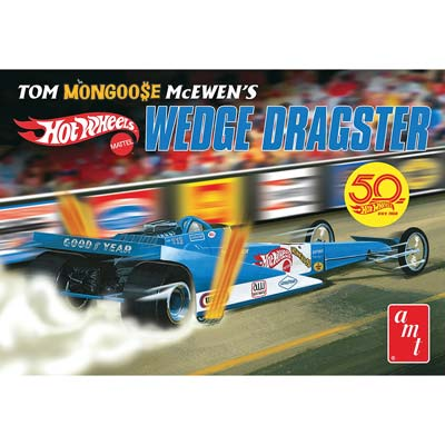 1/25 Wedge Dragster, Tom McEwen Fantasy/Hot Wheels (Part# AMT1069)