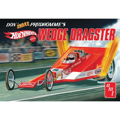 1/25 Coca Cola Don Snake Prudhomme Wedge Drg (PART# AMT1049/12 )