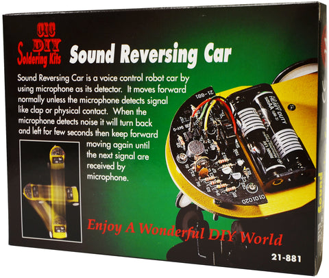 Sound Reversing Car (PART# E-21881)