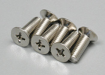 Countersunk Screws 4x12mm (6) (Part # TRA2548)