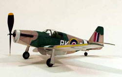 P-51B MUSTANG FLYING MODEL (Part # DUMA0218)