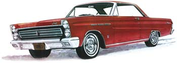 1965 1/25 Mercury Comet Cyclone (PART# MOE1210)