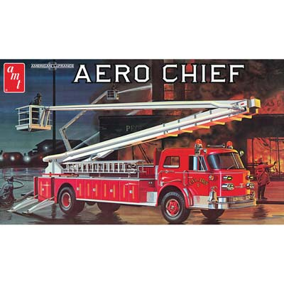 AMT980/06 1/25 American LaFrance Aero Chief Fire Truck (Part # AMTS0980)