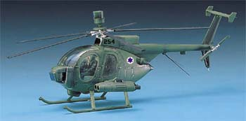 12250 1/48 HUGHES 500D TOW HELICOPTER (Part # ACYS1644)