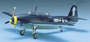12452 1/72 US Navy TBF-1 Avenger (Part # ACYS1651)