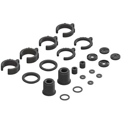 AR330451 Composite Shock Parts/O-Ring Set (2 Shocks) (PART# ARAC8940)