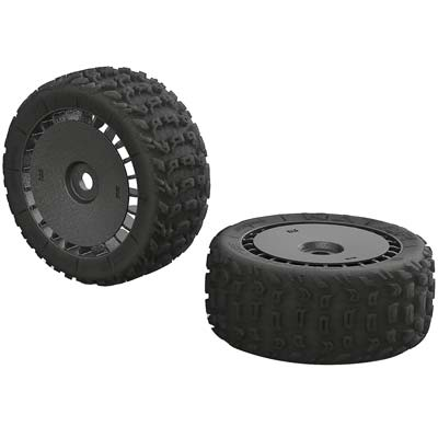 AR550048 dBoots Katar T 6S Tires and Wheels for the Arrma Talion 6S BLX Truggy
