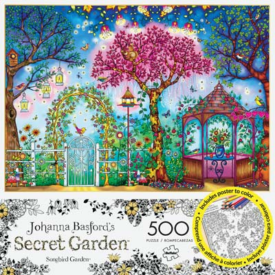 3843 Songbird Garden 500pcs Build/Color (PART# BUFY3843)