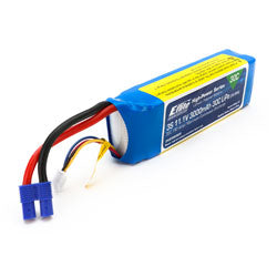 3000 MAH 3S 30C BATTERY (Part # EFLB30003S30)