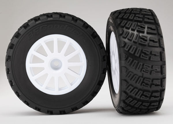 "7473R Tires & wheels, assembled, glued (BFGoodrich"" Rally, S1 compound tires) (2) (PART# TRA7473R)"
