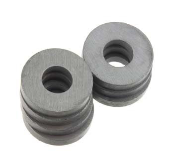 "07005 Ceramic Magnet Ring 3/4x1/4"" (6) (Part # MGUX7005)"