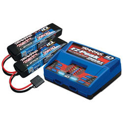 TRA2991 2s Battery/Charger Combo; 2-7600mAh + 1 ID Charger (PART# TRA2991)
