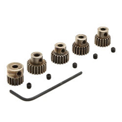 Pinion gear set 17t-21t 48p (Part # DYNG4810)