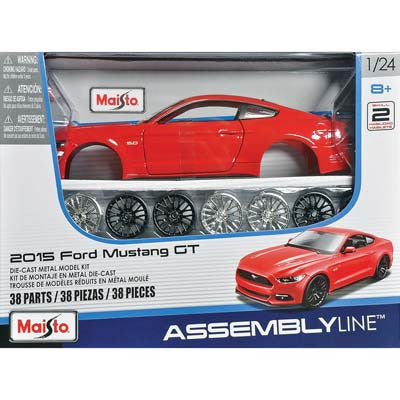 39126 1/24 AL 2015 Ford Mustang (PART# MAIS9126)