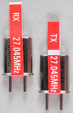 2032 #2 Crystal Set Red-27.045 (PART# TRA2032))