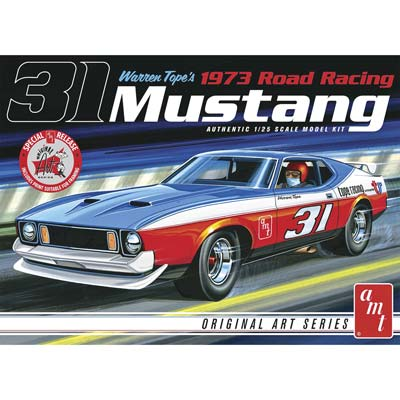 1/25 Warren Tope 1973 Mustang original Art Series (PART# AMT896)