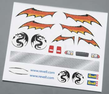 DRY TRANSFER DECALS F (Part # RMXY9625)