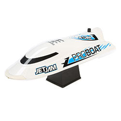 Jet Jam 12-inch Pool Racer, White: RTR (PART# PRB08031T2 )