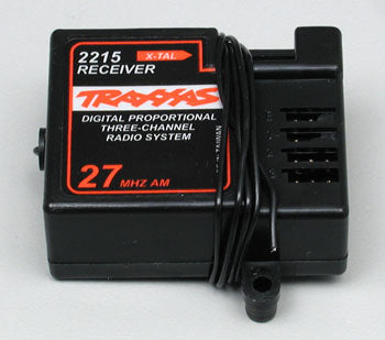 RECEIVER_  3 CHANNEL_  27MHZ (Part # TRA2215)