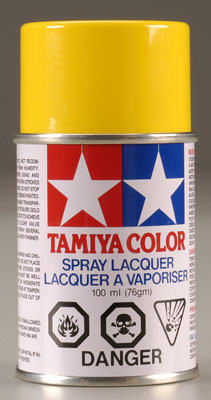 86006 PS-6 Polycarb Spray Yellow 3 oz (PART# TAMR8606)